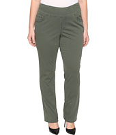 Jag Jeans Plus Size - Plus Size Peri Pull-On Straight in Deep Forest Bay Twill