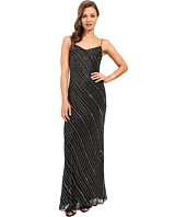 Adrianna Papell - Sleeveless Bead Bias Gown