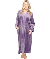 Carole Hochman - Plus Size Velour Zip Robe