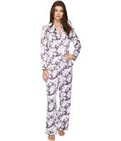 Carole Hochman - Packaged Brush Back Satin Pajama