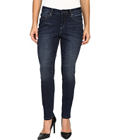 Jag Jeans Petite - Petite Sheridan Skinny in Capital Denim in Dark Star
