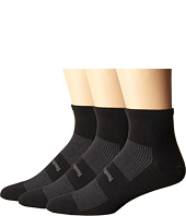 Feetures - High Performance Ultra Light Quarter 3-Pair Pack
