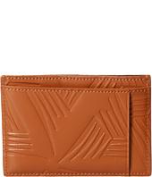MARNI - Flower Embossed Leather Card Holder