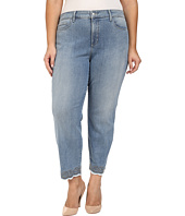 NYDJ Plus Size - Plus Size Clarissa Ankle Jeans with Embroidered Hem in Parker