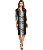 Christin Michaels - Mahlia Midi Bodycon Sweater Dress