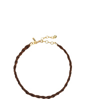 Vanessa Mooney - Braided Suede Choker Necklace