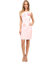 Tahari by ASL - Pique Floral Sheath Dress
