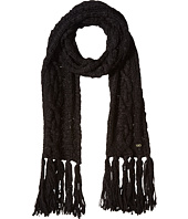 Cole Haan - Chunky Cable Muffler with Fringe