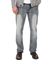 Buffalo David Bitton - Driven Relaxed Straight Leg in Blasted Indigo