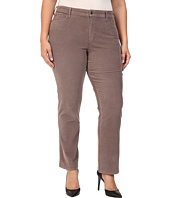 NYDJ Plus Size - Plus Size Marilyn Straight Jeans in Corduroy in Alder