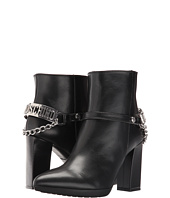LOVE Moschino - Ankle Boot with Heel Chain Logo
