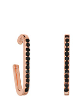 Rebecca Minkoff - Pave Safety Pin Ear Cuff Earrings