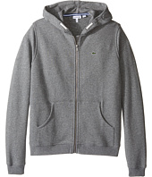 Lacoste Kids - Full Zip Chine Fleece Sweatshirt (Infant/Toddler/Little Kids/Big Kids)