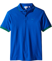Lacoste Kids - Short Sleeve Rubber Croc Polo (Infant/Toddler/Little Kids/Big Kids)