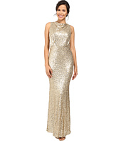 Badgley Mischka - Sequin Blouson Gown