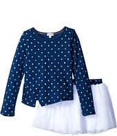 Splendid Littles - Indigo Tutu Dress Star Print (Little Kids)