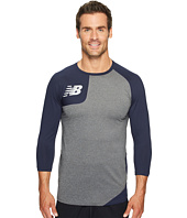 New Balance - Asymmetrical Baseball Tee Right