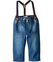 Pumpkin Patch Kids - Crotch Panel Jeans with Suspenders (Infant)
