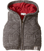 Pumpkin Patch Kids - Quilted Knit Vest (Infant)