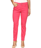 NYDJ Petite - Petite Clarissa Ankle Jeans in Exotic Melon Colored Bull Denim