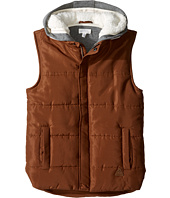 Pumpkin Patch Kids - Sweat Hood Canvas Vest (Big Kids)