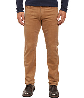 U.S. POLO ASSN. - Slim Straight Corduroy Five-Pocket Jeans in Camel Coat