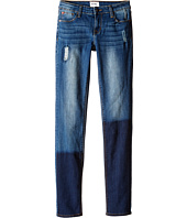 Hudson Kids - Five-Pocket Rip & Repair Skinny in Pool (Big Kids)