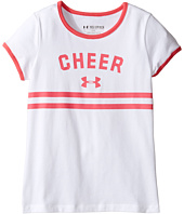 Under Armour Kids - UA Cheer Ringer Short Sleeve Tee (Big Kids)