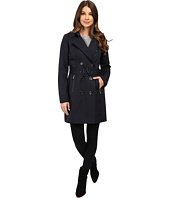 MICHAEL Michael Kors - Double-Breasted Belted Trench with Removable Warmer M722325T