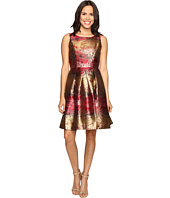 rsvp - Millington Metallic Brocade Dress