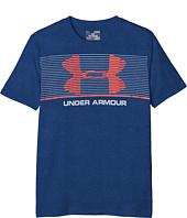 Under Armour Kids - Chest Stripe Short Sleeve Tee (Big Kids)