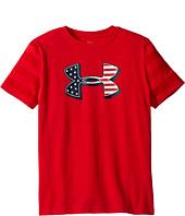 Under Armour Kids - Big Logo Flag Short Sleeve Tee (Big Kids)