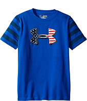 Under Armour Kids - Big Logo Flag Short Sleeve Tee (Big Kids)