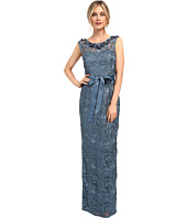Adrianna Papell - Guipure Lace Column Gown
