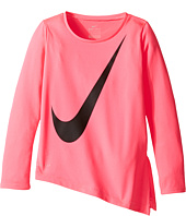 Nike Kids - Dri-Fit Long Sleeve Side Slit Top (Toddler)