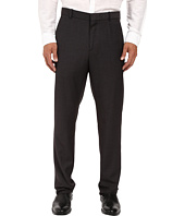 Perry Ellis - Regular Fit Tonal Micro Check Flat Front Pants