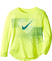 Nike Kids - Heart Geo Mashup Modern Tee (Little Kids)