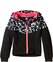 Nike Kids - Mixed Fabric Windrunner (Little Kids)
