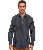 Perry Ellis - Regular Fit Non Iron Mini Floral Print Shirt