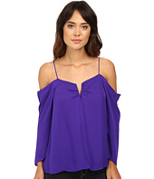 Nicole Miller - Schuler Silk Cold Shoulder Blouse