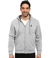 U.S. POLO ASSN. - Fleece Hoodie with Sherpa Lining