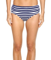 Tommy Bahama - Breton Stripe High-Waist Bikini Bottom