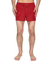 Dolce & Gabbana - Solid Mid Cut Swim Shorts