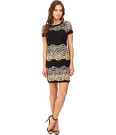 Donna Morgan - Easy Shift Dress with Combo