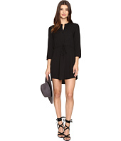 Jack by BB Dakota - Kesler Cape Drawstring Waist Dress