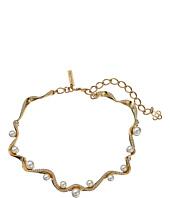 Oscar de la Renta - Pave Wave Pearl Necklace