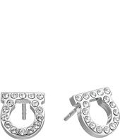 Salvatore Ferragamo - Or Face Mini Earrings