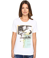 DSQUARED2 - Liza Glitter Faced Couple Jersey Tee
