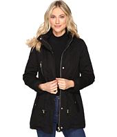 Brigitte Bailey - Patience Polyfilled Jacket w/ Faux Fur Hood