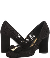 Salvatore Ferragamo - Lace High-Heel Pump